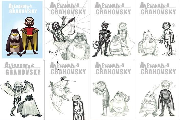 Alexander & Grahovsky  1st Season  wip    alexandergrahovsky.com