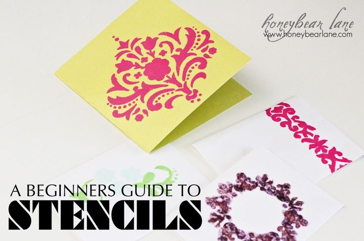 49 best Stencil - Painting DIY images on Pinterest | Stencil ...