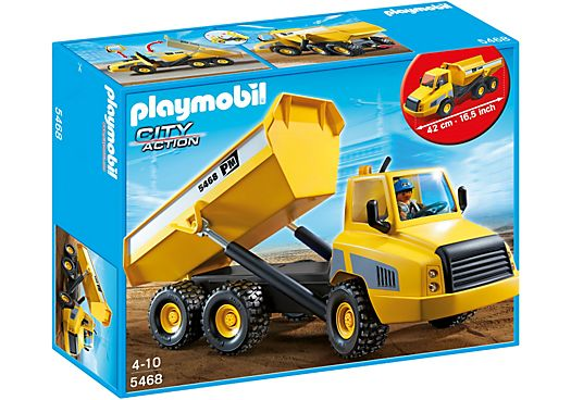 Industrial Dump Truck $52.95 Playmobil Australia   www.minizoo.com.au