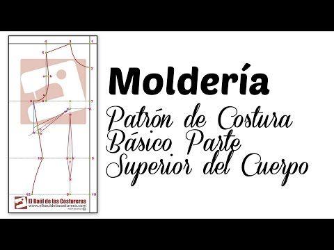 Trazado patrón base parte superior del cuerpo (Blusa básica) | EL BAÚL DE LAS COSTURERAS  http://www.elbauldelacosturera.com/2011/08/TrazadoBlusaBasica.html