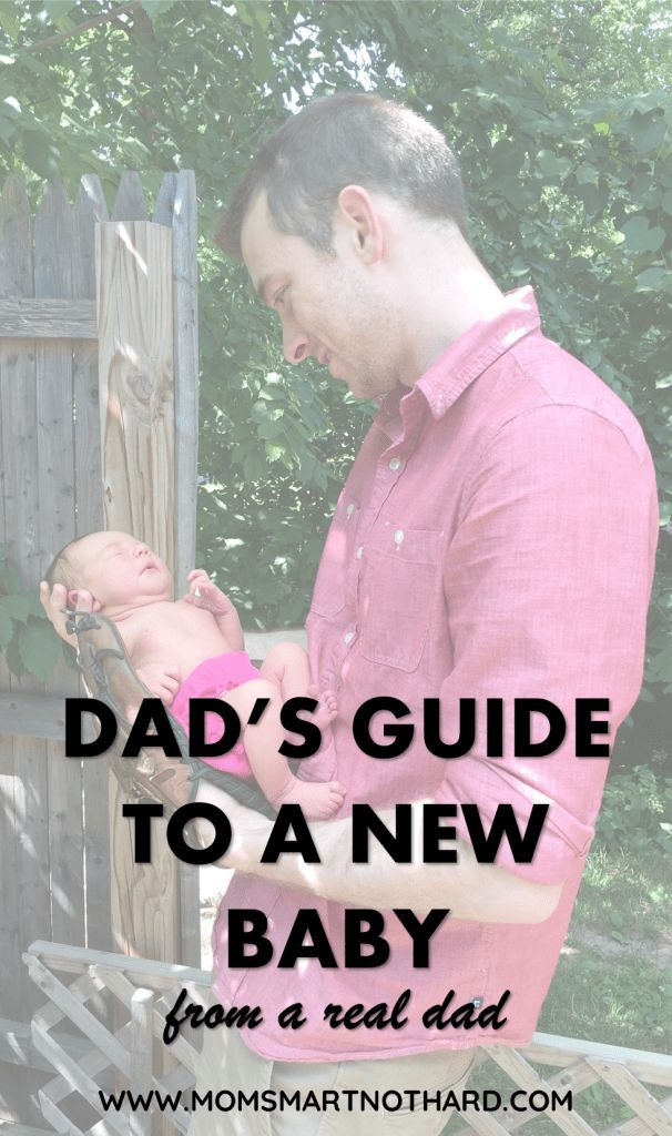 This dad's guide to a new baby covers everything an expecting father should know so that they can fully support their partner when baby arrives.