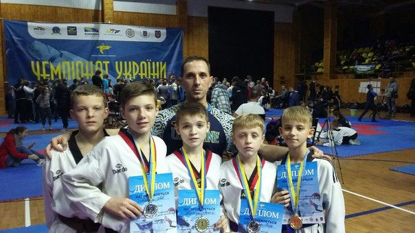 Вінниця Чемпіонат України з тхеквондо WTF ЛИСТОПАД 2015