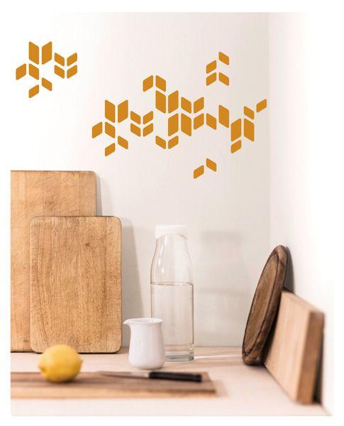 #Deko-Sticker Marrakesch in zeitlosem #Retro-Muster für glatte Oberflächen. #Design #Wandsticker #Wandtattoo