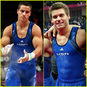 Sam Mikulak and Jake Dalton
