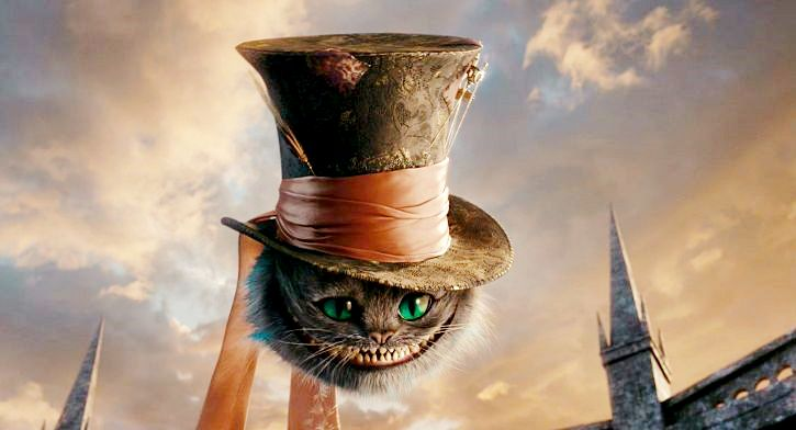 the cheshire cat and the mad hatters hat alice in wonderland pinterest cats mad hatter. Black Bedroom Furniture Sets. Home Design Ideas