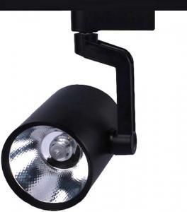 Трековый светильник 30 Вт на 1-ф трек черный СОВ TL03055BL, основное изображение