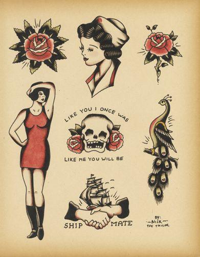 17 best images about tattooed vintage on pinterest vintage grimm and sailor jerry. Black Bedroom Furniture Sets. Home Design Ideas