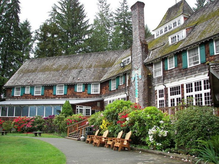 lake quinault lodge...olympic national forest...Washington. We were here in June and it was lovely.