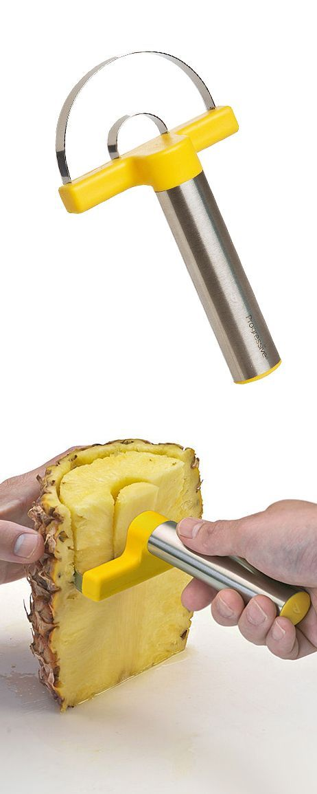 kitchen gadget ideas for pealing a pineapple would be great when going 13317
