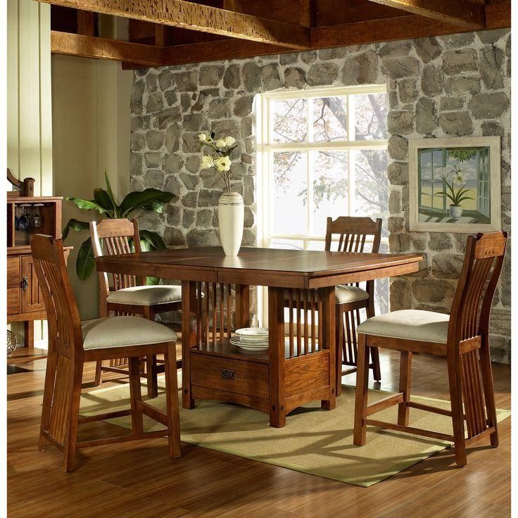 Somerton Dwelling Craftsman Counter Height Table