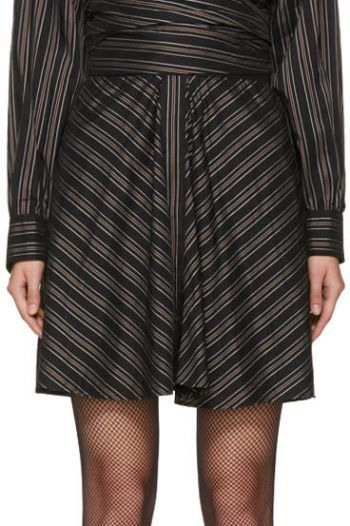 Isabel Marant Black Striped Victoria Dress 220x330 The best black and white dresses for any occasion