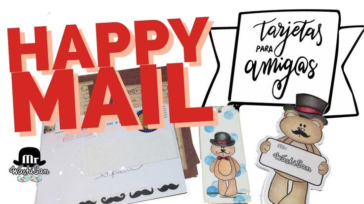 Happy mail del tag tarjetas para mis amig@s youtubers