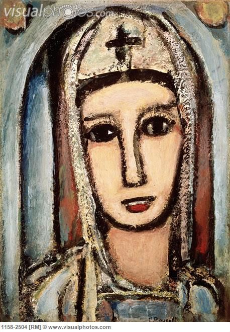 Veronica c.1945 Georges Rouault (1871-1958 French) | Georges ...