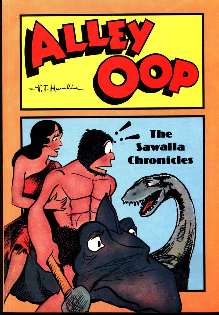 ALLEY OOP The Sawalla Chronicles April 10/August 28 1936 V.T. Hamlin Herb Galewitz Caveman Funnies Kaiju Humor
