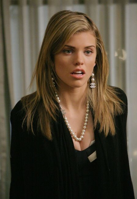 Chanel earrings and necklace.  Naomi Clark on 90210.