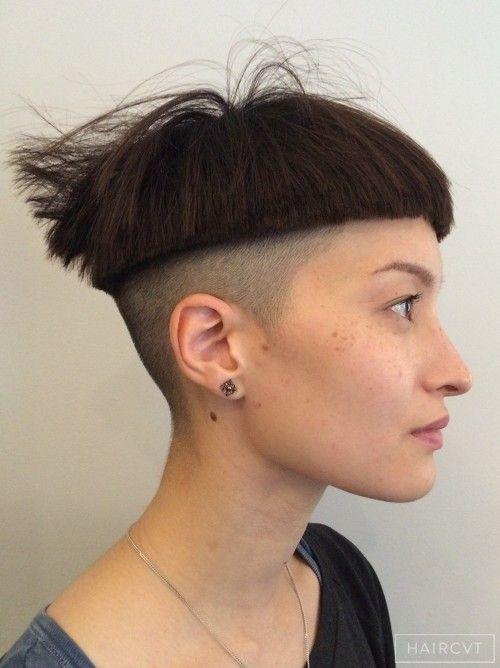 undercut hairstyle female - Google zoeken