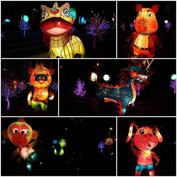 Lantern festival или праздник фонарей. Первое полнолуние и последний день празднования Лунного нового года