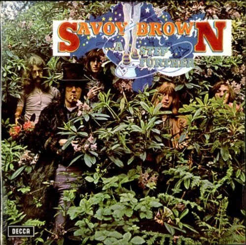 savoy brown step further album covers