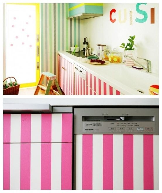 17 Best Ideas About Washi Tape Furniture On Pinterest