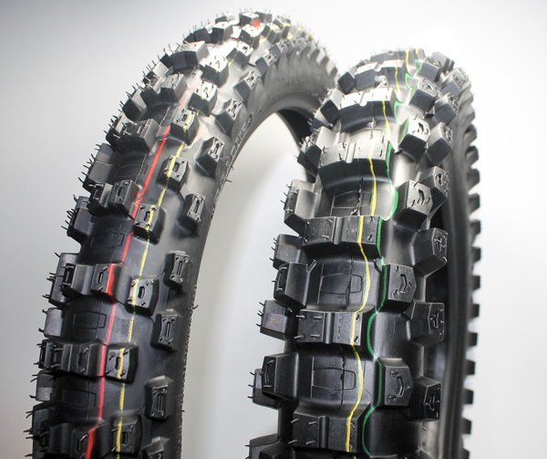 Dirt Bike Tyre set ENDURO 110/90-18 and 80/100-21