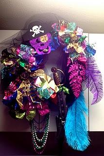 Salty Sisters Gasparilla wreath #saltysisters | Wreaths ...