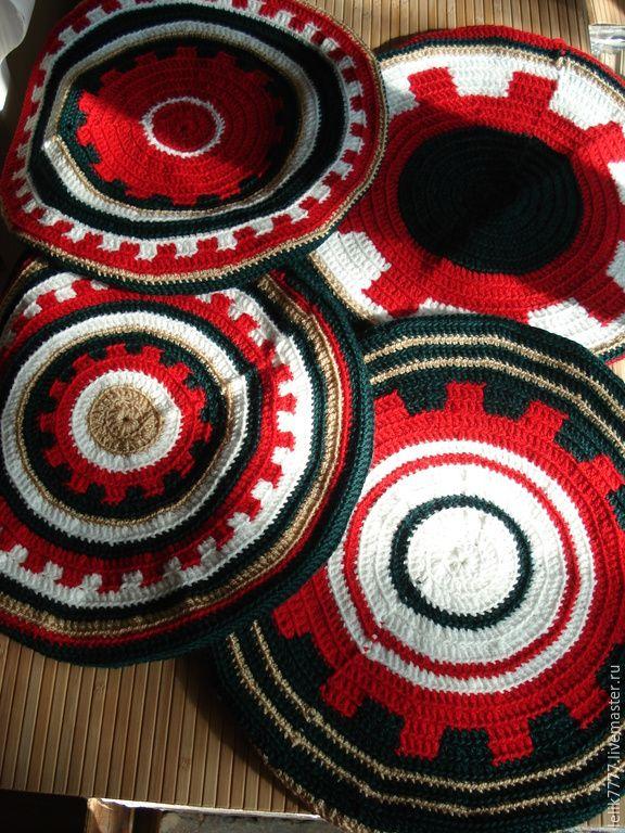 Купить Чехлы для табуретов - разноцветный, кухня, чехлы на стулья, чехлы для…