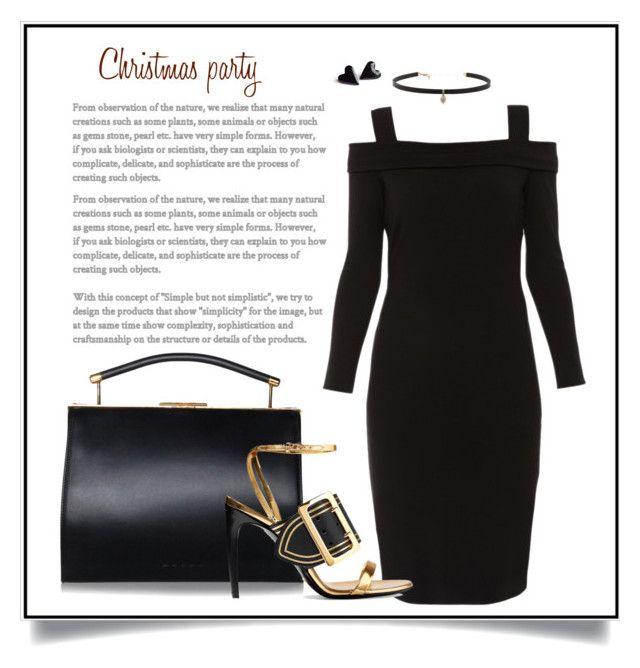"""Christmas party"" by charmina-linda on Polyvore featuring Elie Tahari, Burberry and Carbon & Hyde"