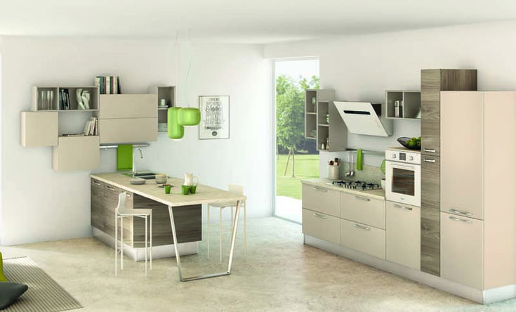 10 best NOEMI / Cucine Lube Moderne images on Pinterest | Kitchen ...