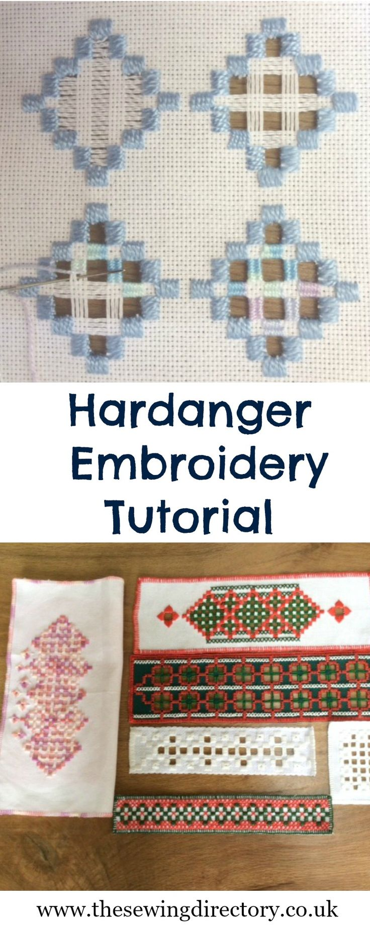 Tutorial on Hardanger embroidery - part of our hand embroidery series