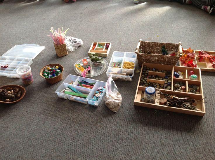 sorting loose materials
