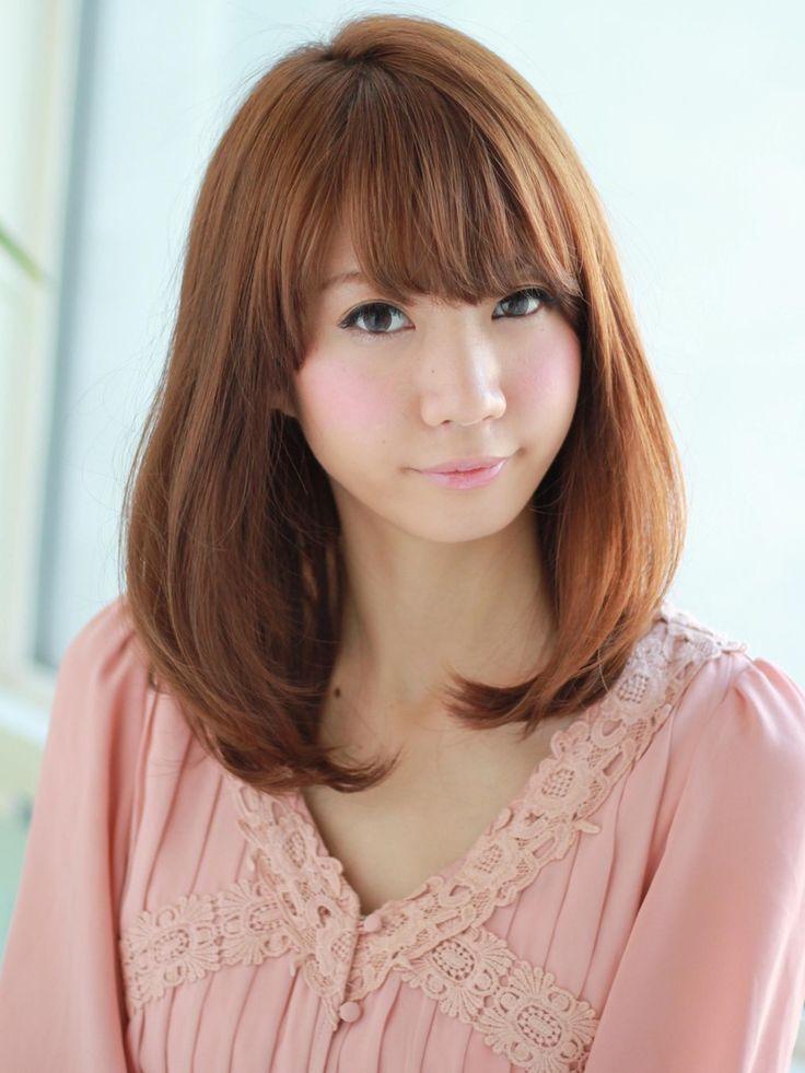 Hairstyle Japan : Nice Japanese medium hairstyle Hair Pinterest