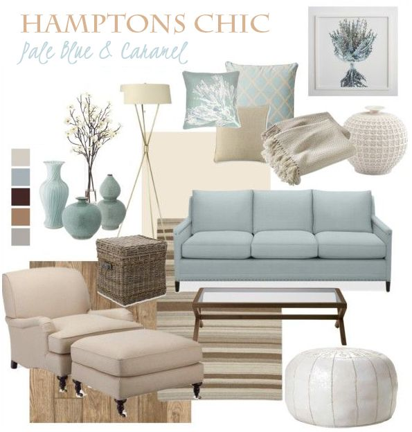 Hamptons Chic - Pale Blue