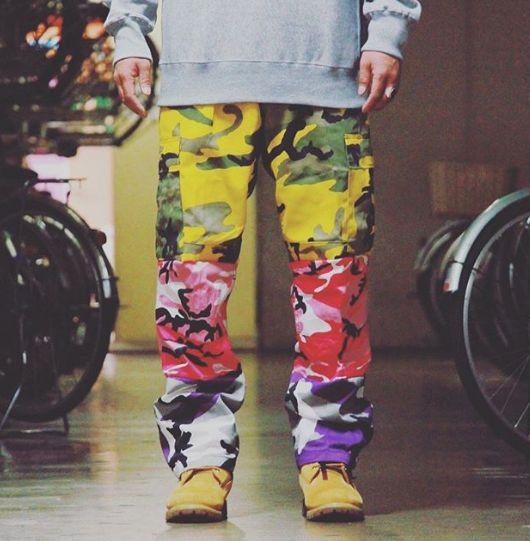 68f75c015ac3 Rothco Colored Camo BDU Pants