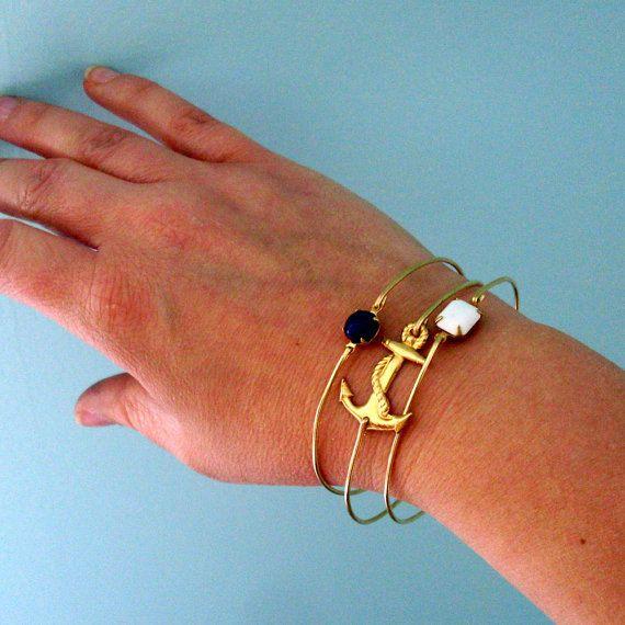 Nautische sieraden zeilen Armband Set Gift Sailor