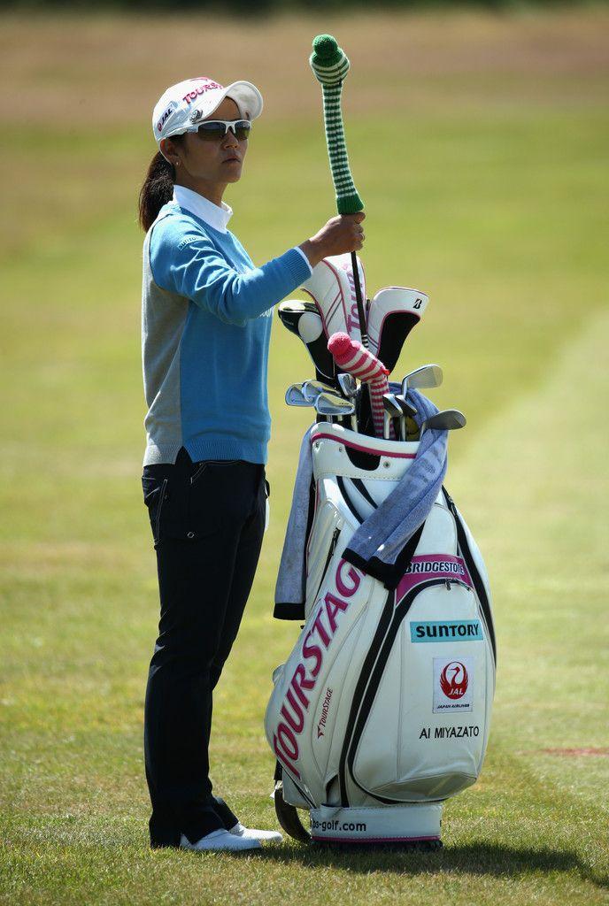 Ai Miyazato Photos: Ricoh Women's British Open: Day 1