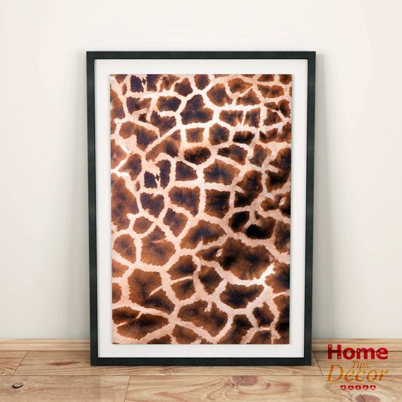 Giraffe Wall Print Giraffe Print SALE Animal Home by HomeDecorTips