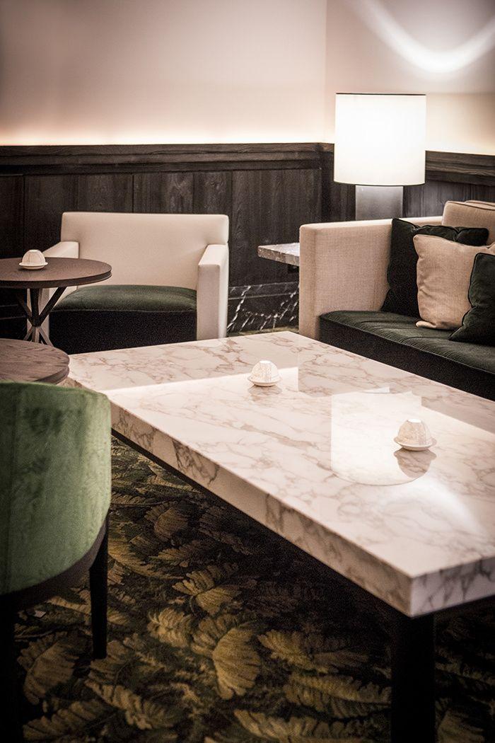 C'est un Café de l'Homme entièrement repensé par le tandem d'architectes d'intérieur Gilles & Boissier qui vient de rouvrir au sein du Palais de Chaillot © Pierre Monetta