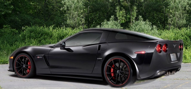 2012 Corvette  ((Not usually a Vette fan... but this design and color scheme rocks.))