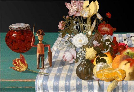 Interactive Still Life Website, National Gallery of Art