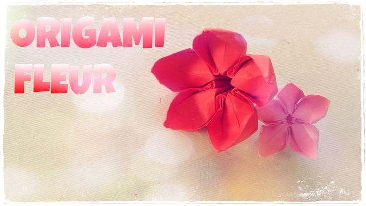 1030 melhores imagens de origami flowersleaf no pinterest flores origami artesanato de papel - Comment faire une fleur en origami ...
