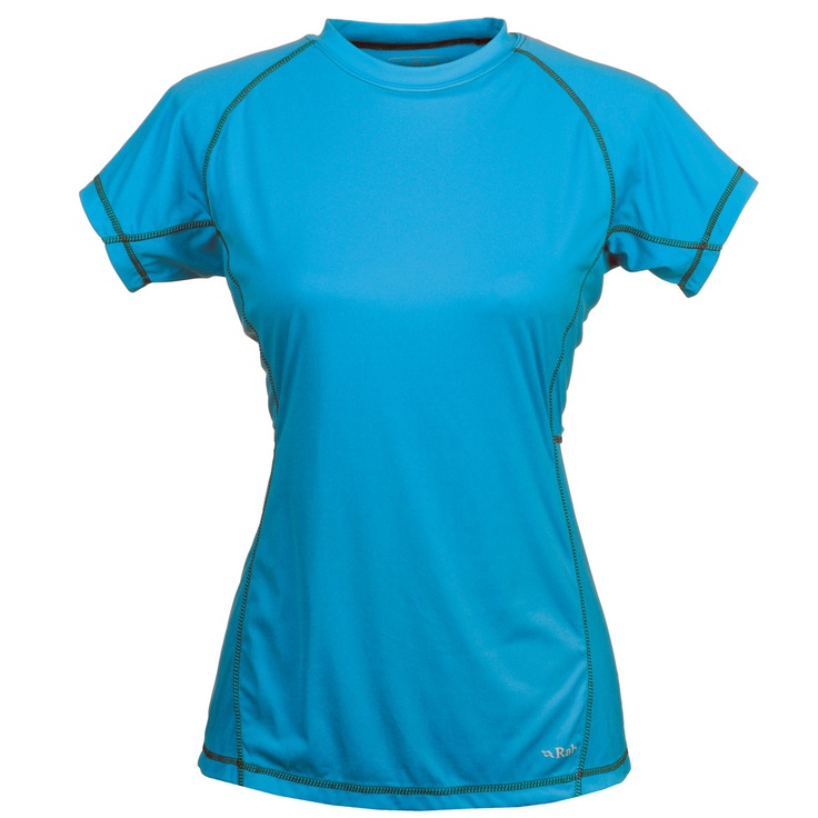 Rab - Aeon Tee Womens | Outdoor Equipment & Clothing for Rock climbing, Trekking, Backpacking, Hill Walking, Hiking, Mountaineering, Rambling | Outdoor Activities & Adventure Travel |