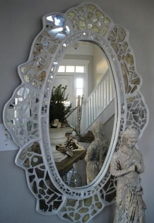 Mosaic Mirror Wall Decor 200 best espejos images on pinterest | mosaic art, mirror and