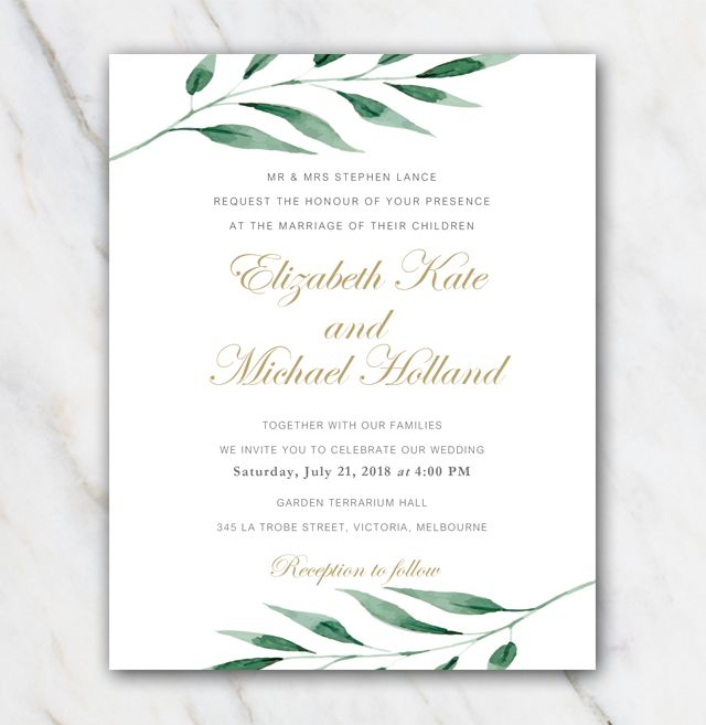 17 best Wedding invitation templates images on Pinterest Wedding - funeral invitation template