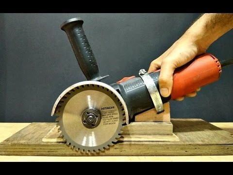 Angle Grinder Hack / Make A Cutter Machine From Angle Grinder.. - YouTube