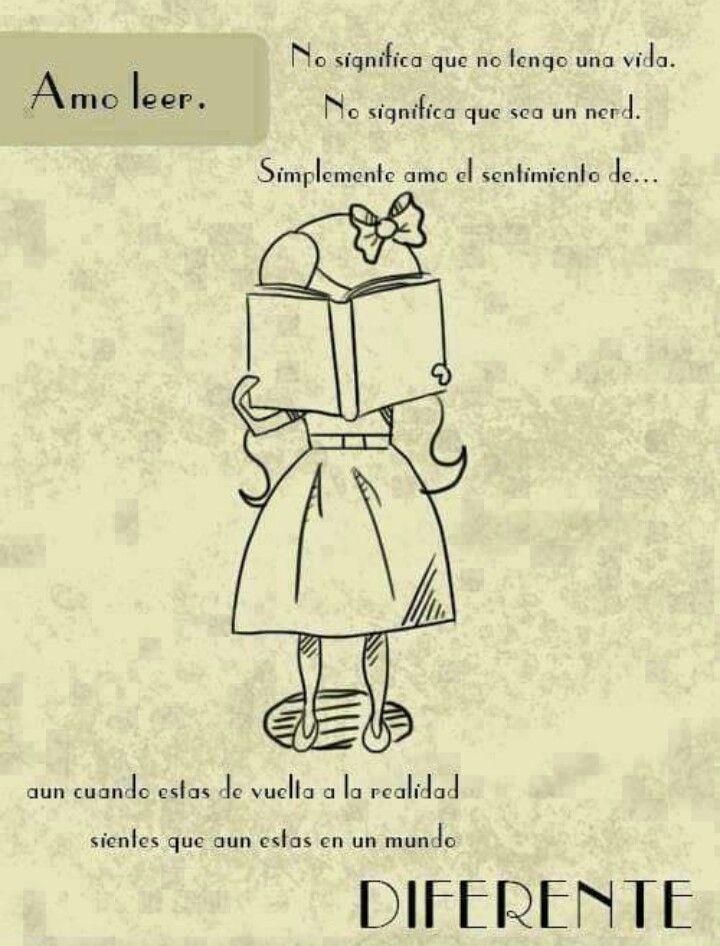 Por Eso Amo Leer Libros Lectura Amantes De La Lectura