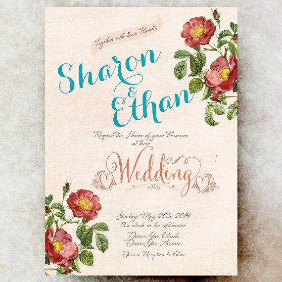 25+ best ideas about whimsical wedding invitations on pinterest, Wedding invitations
