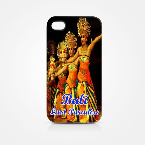Iphone 4 hardcase 3D, Bali Last Paradise