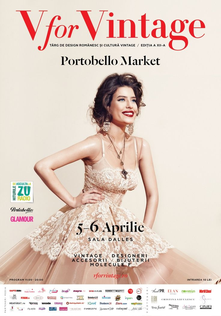V for Vintage Fair - Portobello Market 2014 Edition