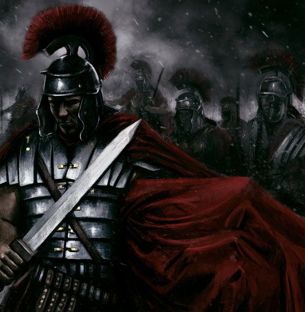 Roman legionary by *PlER0 on deviantART