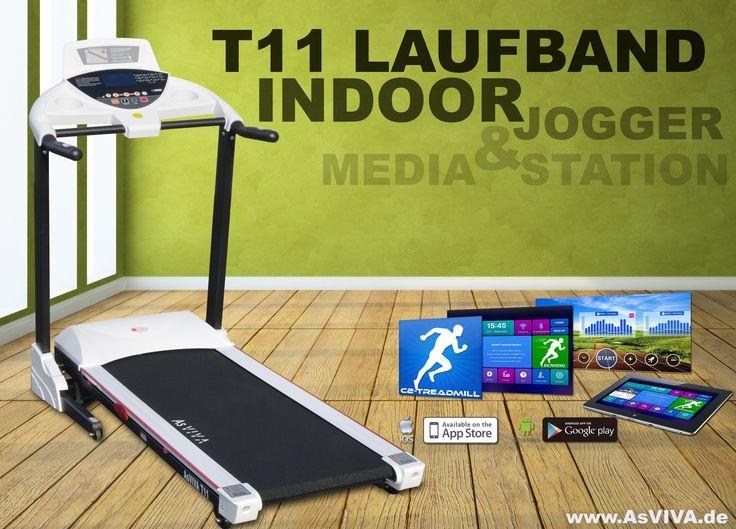 NEW T11 Laufband | Android & Mac IOS APP kompatibel! Das Bluetooth Laufband für den INDOOR JOGGER Für €499,- Direkt vom Hersteller und Versandkostenfrei.* - Das ist Fitness made in germany - #hometrainer #heimtrainer #fitnessgerät #fitness #fitnesstraining #workout #sport #body #crosstrainer #laufband #joggen #geschwindigkeit #ausdauertraining #muskeltraining #fatburn #asviva #fitnessprofi #testsieger #home #sport #fit #fitforbody #showroom #ausdauer
